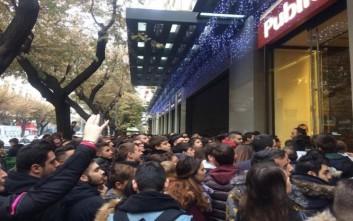 Black Friday και στην Θεσσαλονίκη με ατελείωτες ουρές