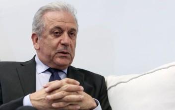 Αβραμόπουλος: Οι επιθέσεις εναντίον της ΕΕ είναι σαν να πυροβολούμε τα πόδια μας