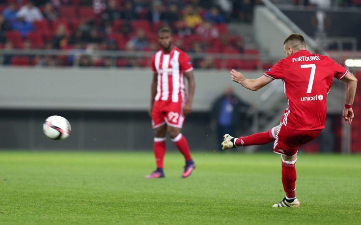 Αγχώθηκε, αλλά προκρίθηκε ο Ολυμπιακός, 1-1, με τη Γιουνγκ Μπόις