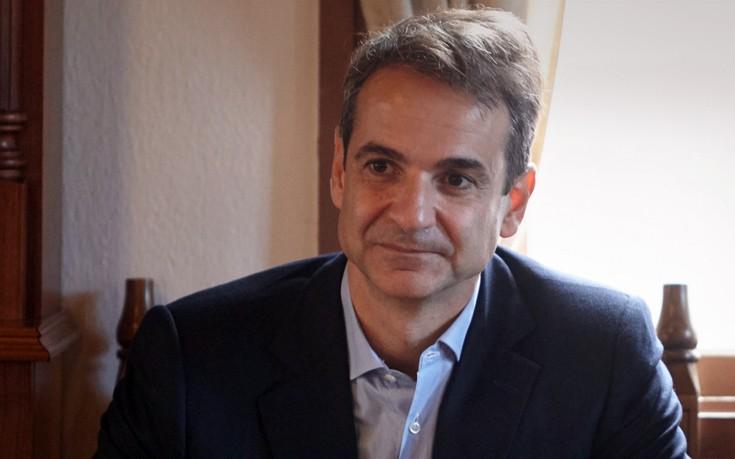 Στα Ιωάννινα συνεχίζει την περιοδεία του ο Μητσοτάκης