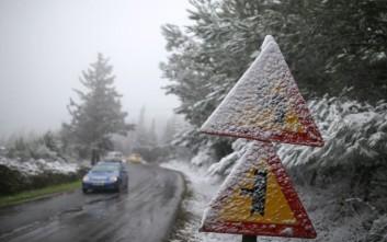 Κλειστοί δρόμοι στη Θεσσαλονίκη λόγω παγετού