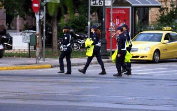 Παραμένουν κλειστοί οι κεντρικοί δρόμοι της Αθήνας