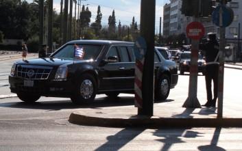 Έρημη πόλη η Αθήνα - Ποιοι δρόμοι κλείνουν για τον Ομπάμα