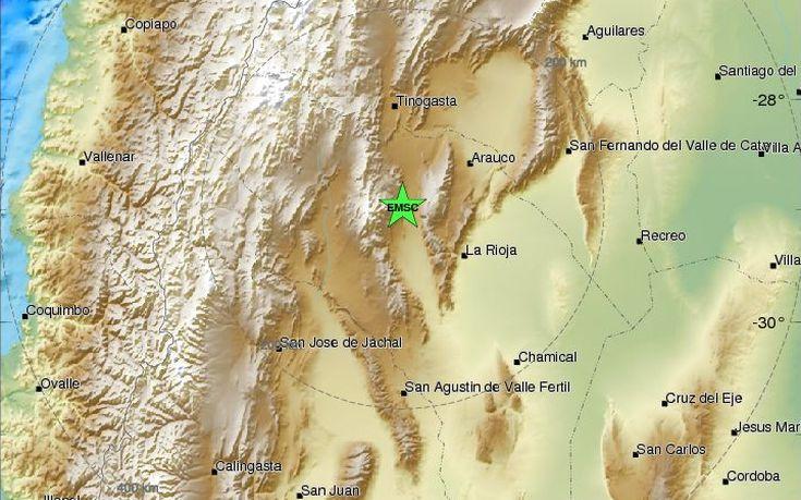 Σεισμός 6,2 Ρίχτερ στην Αργεντινή