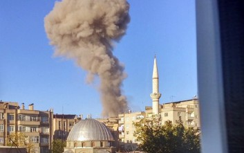 Έκρηξη στο Ντιγιάρμπακιρ της Τουρκίας λίγες ώρες μετά τη σύλληψη βουλευτών του φιλοκουρδικού κόμματος
