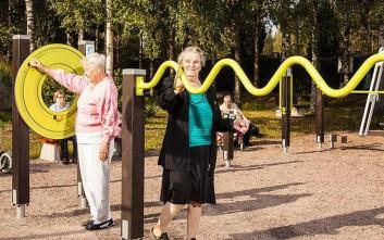 Μια παιδική χαρά για τους ηλικιωμένους