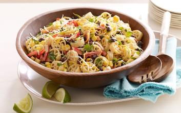 Μεξικάνικη σαλάτα με ζυμαρικά