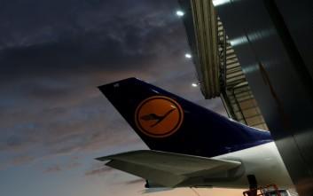 Ακύρωση 1.300 πτήσεων από τη Lufthansa Πέμπτη και Παρασκευή λόγω απεργίας