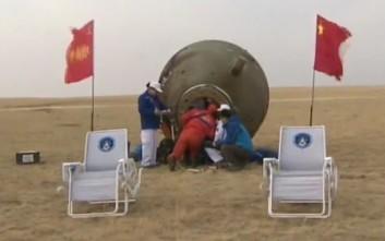 «Απολύτως πετυχημένη» η διαστημική αποστολή του Shenzhou-11