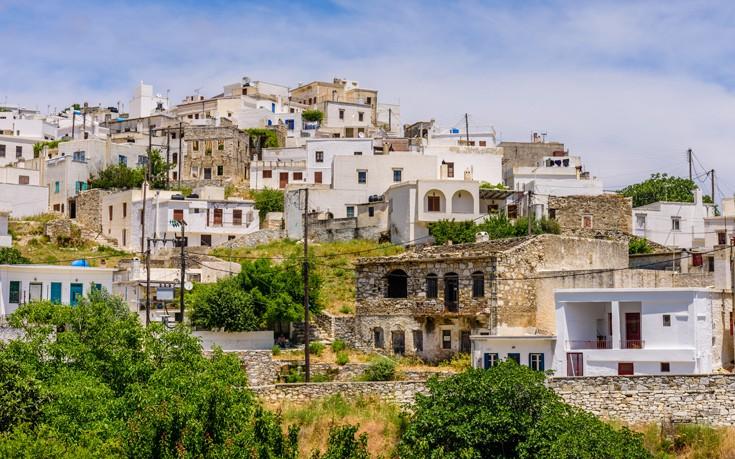 Το πανέμορφο χωριό της ορεινής Νάξου