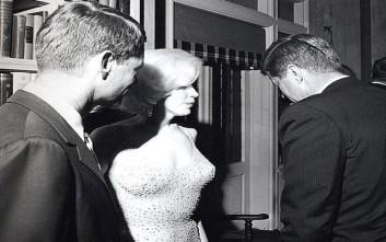 Δημοπρατείται το φόρεμα που έβαλε η Μέριλιν στα γενέθλια του Κένεντι