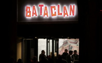 Άγνωστοι έκλεψαν έργο του Banksy στην έξοδο κινδύνου του Bataclan