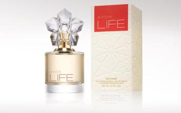 Ζήστε τη ζωή σας όμορφα με το νέο άρωμα AVON LIFE