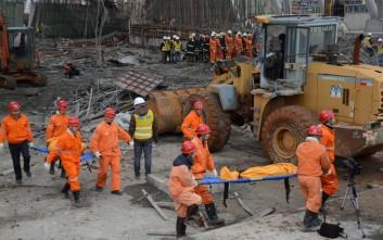 Δεκατρείς άνθρωποι συνελήφθησαν για την κατάρρευση πλατφόρμας στην Κίνα