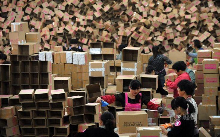 Καταναλωτική φρενίτιδα την «Ημέρα των εργένηδων» στην Κίνα
