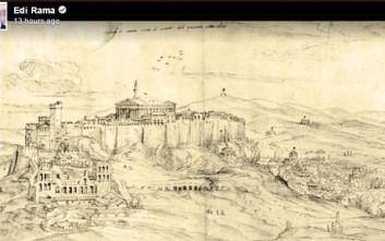 Νέα πρόκληση από τον Έντι Ράμα: Αλβανός έσωσε την Ακρόπολη