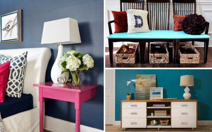 Ανανεώστε το σπίτι με χρώμα και χαρούμενες ιδέες