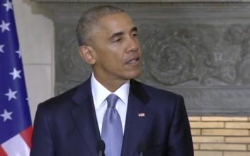 Ομπάμα: Δεν ζηλεύω κανέναν ευρωπαίο ηγέτη