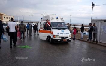 Δύο τραυματίες μετανάστες από τις συμπλοκές στη Χίο
