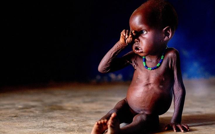 Nyibel Deng Akol, 18 μηνών. Νότιο Σουδάν