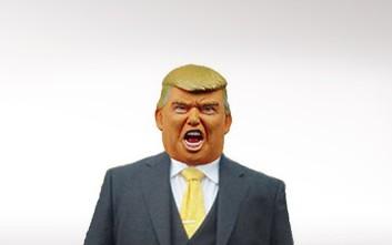 «Χρυσές» δουλειές για γιαπωνέζικη εταιρεία που πουλά μάσκες Τραμπ