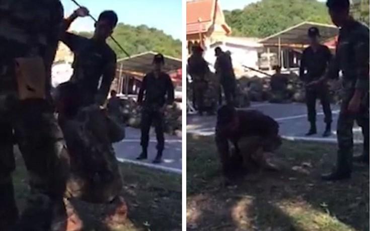 Άγριος ξυλοδαρμός στρατιώτη που δεν τα πήγε καλά σε άσκηση
