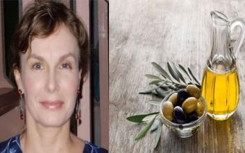 Η Αμερικανίδα που διαφημίζει διεθνώς το ελληνικό λάδι