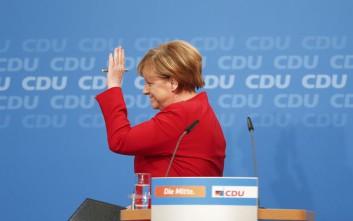 Σαρακοστή με «μεγάλο συνασπισμό» στη Γερμανία θέλει η Μέρκελ