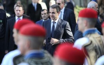 Η ηγεσία του υπουργείου Άμυνας ενημέρωσε τον Μητσοτάκη