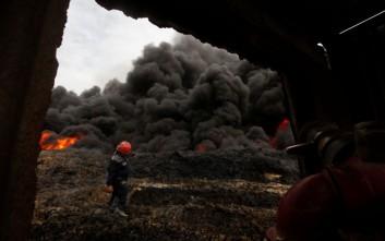 «Οι τζιχαντιστές επιτίθονται με χημικά σε ιρακινούς στη Μοσούλη»