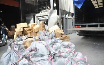 Πάνω από 6,7 τόνοι κάνναβης κατασχέθηκαν το 2016 από την ΕΛ.ΑΣ.