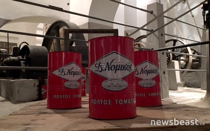 Ένας εργαζόμενος μιλάει για την ιστορία της πιο παλιάς ντοματοβιομηχανίας στην Ελλάδα
