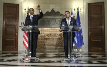 Τι είπε ο Ομπάμα για Ελλάδα, χρέος, λιτότητα και ανάπτυξη