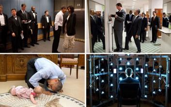 Οι καλύτερες στιγμές του Ομπάμα σε φωτογραφίες που δεν έχετε ξαναδεί
