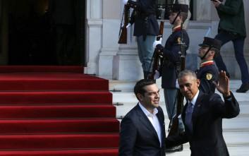 «Πάρτι» στο Twitter για τον ενικό του Τσίπρα στον Ομπάμα