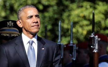 Bild: Εκτός από θερμά λόγια, ο Ομπάμα δεν είχε τίποτε άλλο στις αποσκευές του