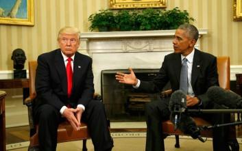 Στο «κόκκινο» οι σχέσεις Ομπάμα και Τραμπ