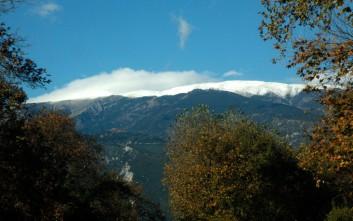 Χιόνια στο βουνό των θεών