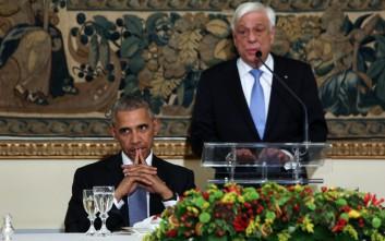 Οι αιχμηρές αναφορές για τη Γερμανία στην Αθήνα παρουσία Ομπάμα