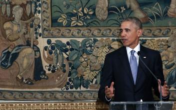 Ομπάμα: Σαν Αμερικανοί είμαστε βαθιά ευγνώμονες στον ελληνικό λαό