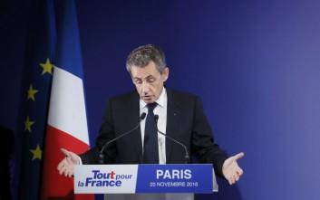 Σαρκοζί: Θέλω να εκφράσω τα ειλικρινή μου συγχαρητήρια στον Φρανσουά Φιγιόν
