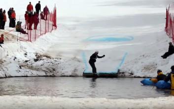 Σκι, πάγος και γκάφες