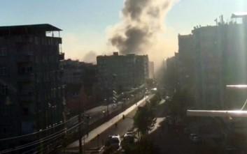 Τρόμος στην Τουρκία, πρώτες εικόνες μετά την έκρηξη