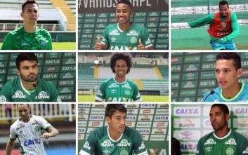 Αυτοί είναι οι αδικοχαμένοι παίκτες και ο προπονητής της Chapecoense