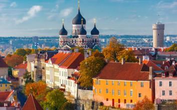 Μπαρόκ αισθητική στο Ταλίν της Εσθονίας