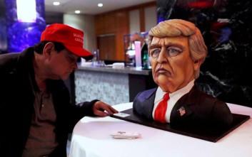 Η τούρτα του θριάμβου του Ντόναλντ Τραμπ