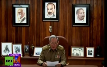 Η ιστορική ανακοίνωση του θανάτου του Φιντέλ Κάστρο