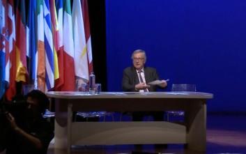 Γιούνκερ για Ε.Ε.: Καμία χώρα δεν μπορεί να ακολουθήσει χωριστή πορεία
