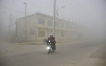 Άρση του «κόκκινου συναγερμού» για την ατμοσφαιρική ρύπανση στην Κίνα