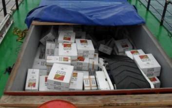 Συλλήψεις για λαθραία τσιγάρα στο κέντρο της Θεσσαλονίκης